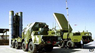A Russian S-300 anti-aircraft missile system. File photo