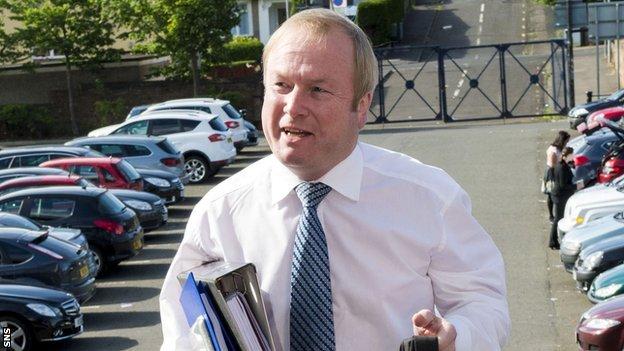 Kilmarnock chairman Michael Johnston