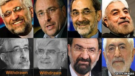 Iranian presidential candidates