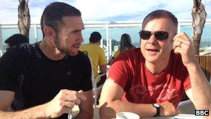 Martin Keown & Steve Wilson