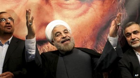 Hassan Rouhani. File pic