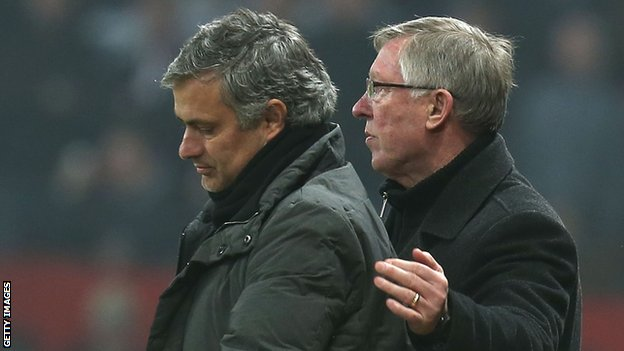 Jose Mourinho & Sir Alex Ferguson