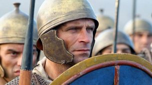 Roman soldier played by extra in Ancient Rome : The Rise And Fall Of An Empire
