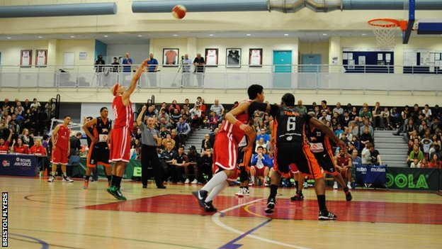 Bristol Flyers in action