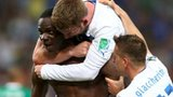 Italy celebrate Mario Balotelli's winner
