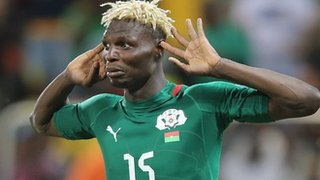Burkina Faso striker Aristide Bance