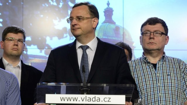 Czech Prime Minister Petr Necas to resign today following arrest of aide in illegal surveillance scandal