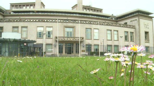 Yugoslav tribunal building