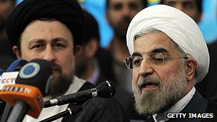 President-elect Hassan Rouhani