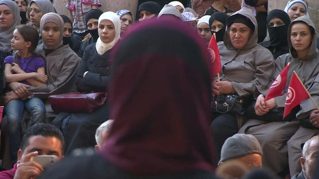 Mother addresses other mothers in Damascus