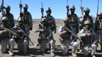 Afghan special forces in Logar province