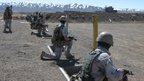 Afghan special force members