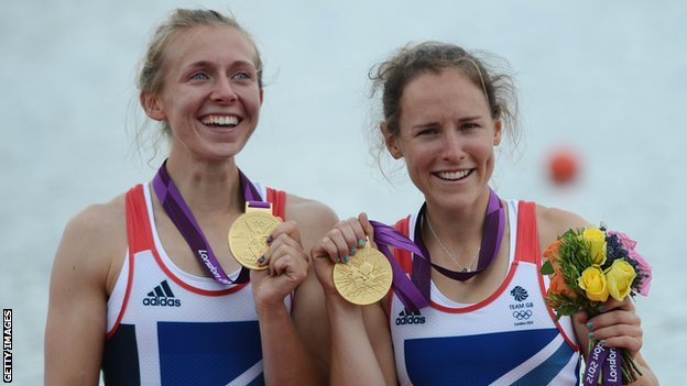 Kat Copeland and Sophie Hosking (right)