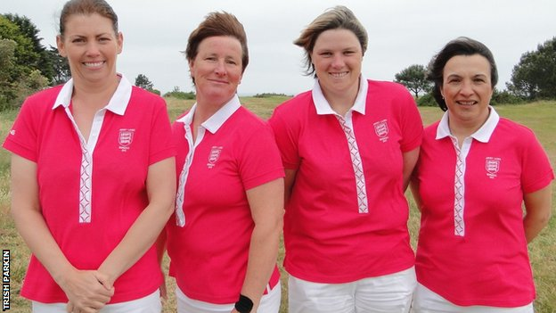 Jersey women's golf team