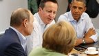 G8 leaders seek agreement on Syria