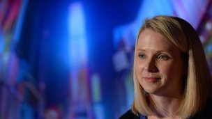 Marissa Mayer, chief executive Yahoo
