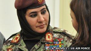 Brig. Gen. Khatool Mohammadzai