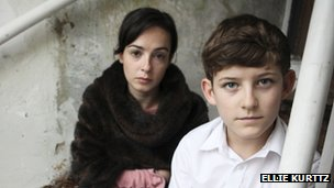 Laura Donnelly with child in Tutto Bene, Mamma?