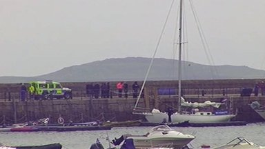 Windrose in St Mary's harbour
