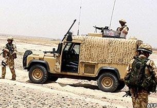A Snatch Land Rover