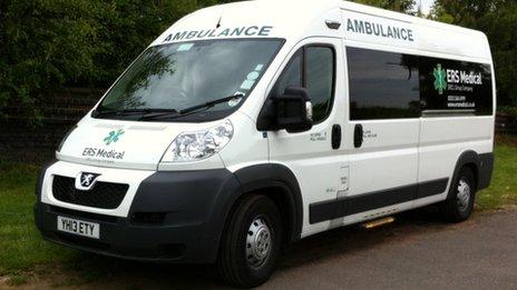 ERS ambulance