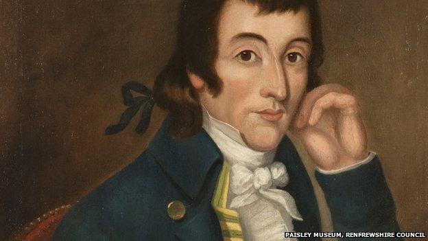 Portrait of Alexander Wilson courtesy of Paisley Museum, Renfrewshire council