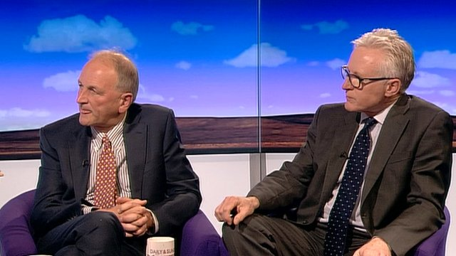 Chris Ham and Norman Lamb