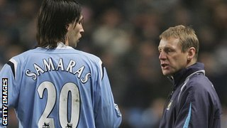 Stuart Pearce at Manchester City