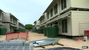 Inside the Nauru detention centre