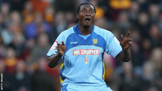 Striker Calvin Zola