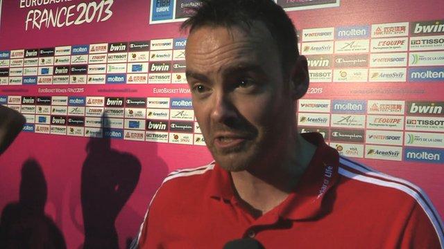 Team GB head coach Damian Jennings