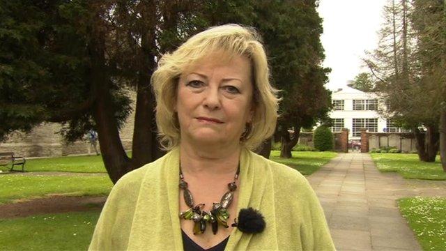 Ann Barnes, Kent police and crime commissioner