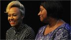 Emeli Sande and Doreen Lawrence