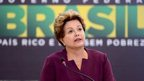 Brazil president 'proud' of protests