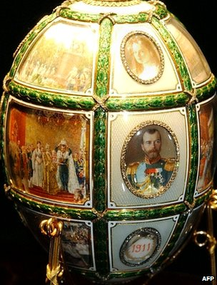 15th anniversary Faberge egg