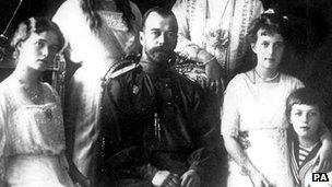 Tsar Nicholas II and family