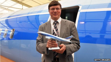 Kirill Budaev, vice president, Irkut (file photo)