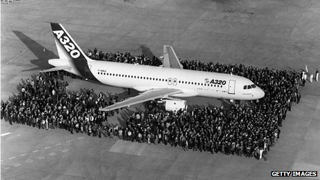 The launch of the A320