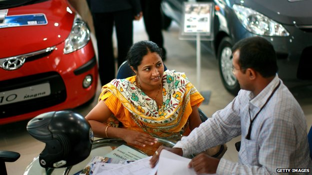 Car dealership in India