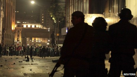 Riot police face off against demonstrators during protests in Sao Paulo