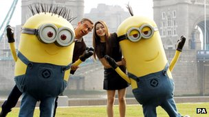 Steve Carell at the Despicable Me 2 photocall