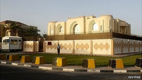 Taliban political office in Doha, Qatar. 18 June 2013