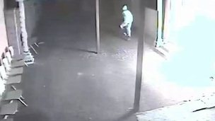 Man seen on CCTV footage