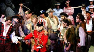Gilbert & Sullivan Opera Co performing Pirates of Penzance