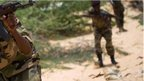 Somali army soldiers (Archive shot March 2013)