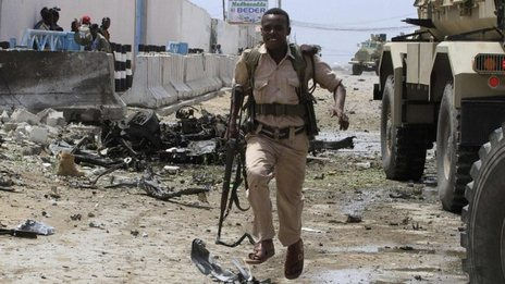 Deadly attack on Somalia UN office
