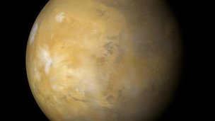 Mars taken by Mars Global Surveyor