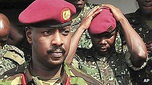 Ugandan president Museveni's son, Muhoozi Kainerugaba
