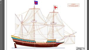 Mayflower replica plan