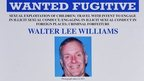 FBI wanted poster of Walter Lee Williams